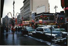 Downtown Syracuse, NY circa 1956