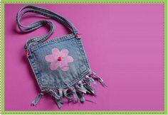 Kids Craft Blog by PlaidOnline.com - Denim Purse