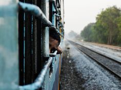 As a kid I was always curious to know where we were going. On a recent trip on a train early morning I was taking some photos and there was this kid. He was peeping back every now and then and every time the train stopped he was looking at the boards. Once he saw the camera in my hand, he got curious but was not waiting for me to click.National Geographic Traveler