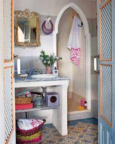 moroccan interior decor and room colors