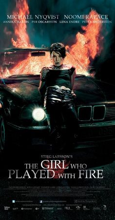 """Flickan som lekte med elden"" (original title) - A Menina Que Brincava Com Fogo (2009) by Daniel Alfredson (Soutrce: imdb)"