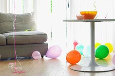 """Sometimes the best parties are the ones that just kind of happen. They aren't planned, but, rather impromptu, and, its good to have certain items around the house should you find yourself in this situation. Some suggested """"on hand"""" items include:"""