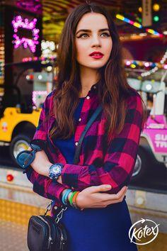 ¡Las camisas de cuadros nunca pasarán de moda! #Moda #Cuadros #Style #Leñadora #Camisa