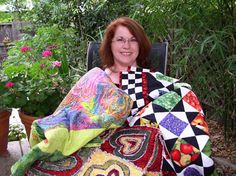 Quilt Your Heart Out is another beginner's resource for making quilts. Site at www.beginners-quilting.com