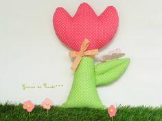 coussin fleur rOse pour un printemps tout en douceur : Jeux, jouets par graine-de-pensee