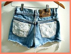 A bunch of ADORABLE DIY shorts.. I want to make them all!!