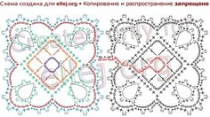 In this lesson, I decided to show how to make the transition from one row of motifs to the next, so that you could crochet a whole dress ♦ Free step-by-step crochet photo Tutorial & Chart. Irish Crochet Patterns, Crochet Lace Edging, Crochet Borders, Crochet Chart, Diy Crochet, Crochet Tutorials, Crochet Mandala, Crochet Projects, Granny Square Häkelanleitung