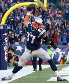 FOXBORO -- There's been a Rob Gronkowski sighting.  The big tight end was back on the practice field Thursday afternoon as the team continued prep work for Sunday...But he may not be back out to play for another week or two.....Bill B. stated.
