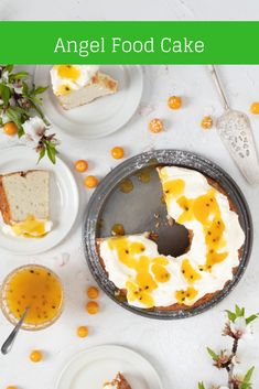 Light traditional sponge cake, made without butter. Pairs beautifully with fruit for a light dessert.