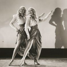 """IMAGES OF BETTY GRABLE   Betty Grable and June Haver as """"The Dolly Sisters"""" (1945)"""