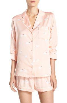 kate spade new york satin short pajamas available at #Nordstrom