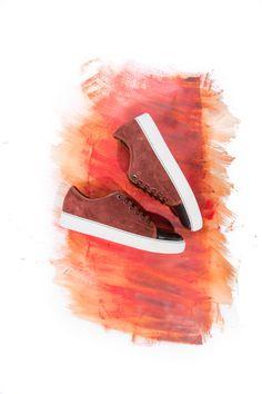 Lanvin low top sneaker brown