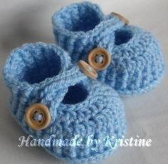 Gehäkelte Schuhe für Neugeborene von  kristine's1986 shop