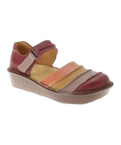 Look at this #zulilyfind! Spring Step Red Bumblebee Leather Mary Jane by Spring Step #zulilyfinds