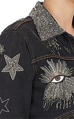 16 trendy Ideas for embroidery designs fashion embellishments beads 16 trendy I. 16 trendy Ideas for embroidery designs fashion embellishments beads 16 trendy Ideas for embroidery Fashion Details, Look Fashion, Fashion Design, Fashion Ideas, Isabel Marant, Denim Fashion, Fashion Outfits, Modest Fashion, Embellished Jeans
