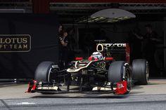 Kimi Raikkonen - Lotus E20 - 2012 Barcelona testing