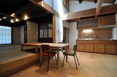 空中坪庭のある京町家 #machiya #renovation #kyoto