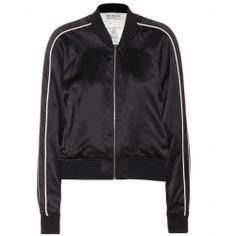 mytheresa.com - Silk bomber jacket - Luxury Fashion for Women / Designer clothing, shoes, bags