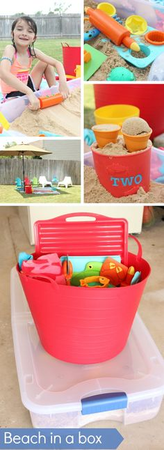 {Have A Beach Day In Your Own Backyard} *Three ingredients for relaxing after a hard day of school