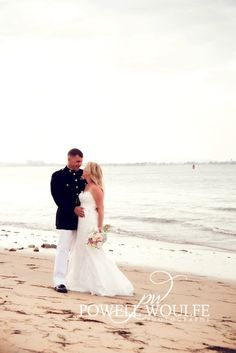 beach marine corps wedding wanna do this for mine and aarons 10 yr wedding anniversary in 5 yrs (: