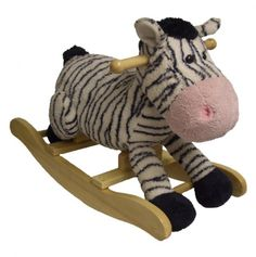 Zebra Rocker Oh @Sarina Martinez !!  I know it's several years away, but this toy is so perfect for my future grandchildren I'm tempted to buy it now and wait!  It's adorable!