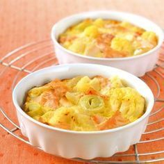 Clafoutis de saumon aux légumes Recette | Weight Watchers