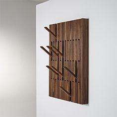 Amazing and Cool designer Coat hanger rack with foldable racks. Original coat hanger solution
