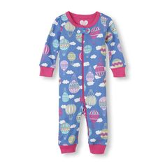 Up, up and away… these PJs are great, night or day!