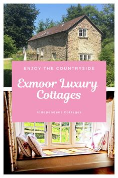 Over 85 independently owned self catering holiday cottages in Exmoor. Book with the cottage owner direct at Independent Cottages. Quirky Places To Stay, Best Places To Travel, Cool Places To Visit, Uk Holidays, Luxury Holidays, Independent Cottages, Cheap Cottages, Last Minute Getaways, Character Cottages