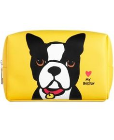 Marc Tetro Large Cosmetic Case - Yellow