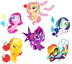 So I felt like depicting the mane six at their low points ( in smooshy form, I might do a full picture of the Mane Insane Six later ) as if they never l. The Mane Insane Six My Little Pony Baby, Baby Pony, My Little Pony Drawing, My Little Pony Friendship, Pinterest Diy Crafts, Imagenes My Little Pony, Little Poni, Mlp Fan Art, My Little Pony Pictures