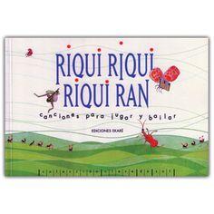 Libros Tin Marin, Kit Riqui riqui, riqui ran (incluye CD)
