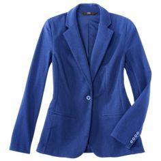 Mossimo® Womens Ponte Boyfriend Jacket - Assorted Colors