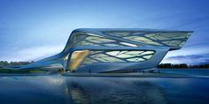 新国立競技場の設計者、ザハ・ハディド氏が韓国に造った建物もすごい                                                                                                                                                                                 もっと見る