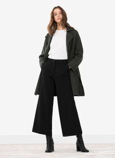 Felt coat - Outerwear - Ready to wear - Uterqüe Spain