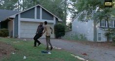 noah walking dead people also search for | ... : Tyreese Walks on Lawn With Noah in New Walking Dead Season 5 Promo