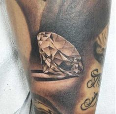 21 Expertly Executed Diamond Tattoos