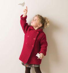 Modèle manteau rapido fille - Modèles Enfant - Phildar