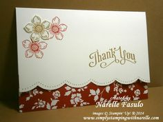 Simply Stamping With Narelle - create quick and easy cards to brighten someone's day. Click on the pic to go to my blog for more details. #stampinup #freshprints #petitepetals