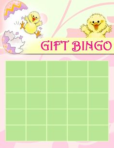 Free Printable Baby Shower Bingo Cards For Gift