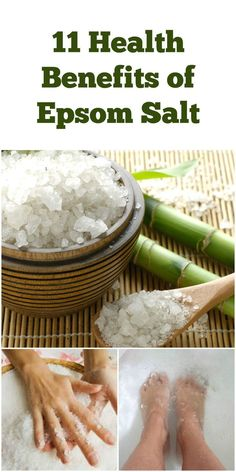Epsom is different than traditional salts in that it is actually a naturally occurring pure mineral compound of magnesium and sulfate. These minerals have very powerful health benefits that can enhance the detoxification capabilities of the body. Epsom Salt Benefits, Epsom Salt Uses, Get Healthy, Healthy Habits, Health And Wellbeing, Health Benefits, Health And Beauty Tips, Health Tips, Epsom Salt Cleanse