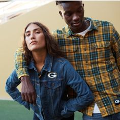It's time to represent, Green Bay. Gear up for Thursday's game. Green Bay, Free Food, Hollister, Group Shots, Men's Apparel, Game, Denim, Sports, Campaign