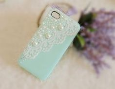 iPhone 4 case Bridal Veil (Green Tea)