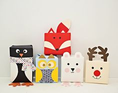 hello, Wonderful - DIY HOLIDAY ANIMAL GIFT WRAP