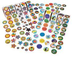 1000 Stickers KANGAROO Mega Jumbo Sticker Assortment