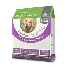 Only Natural Pet EasyRaw Turkey and Sweet Potato Dehydrated Dog Food 2lb * Trust me, this is great! Click the image.