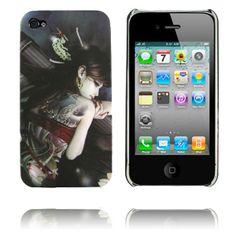Ghost Woman (Nummer 1) iPhone 4 Skal - Fri Frakt