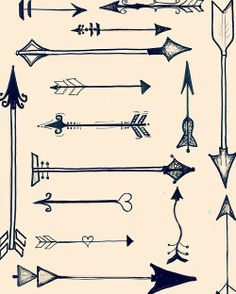 "(Illumination-Day 43/365) ""Arrow Art. Ho-rah!"" Arrows are just really cool, you guys."