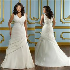 KM1613 New arrival Special design plus size sheer floor length court train pleating ruffle plus size wedding dress 2013