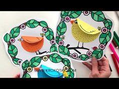 Diy And Crafts, Crafts For Kids, Spring Art, Easter Crafts, Art For Kids, Coloring Pages, Activities For Kids, Origami, Kindergarten